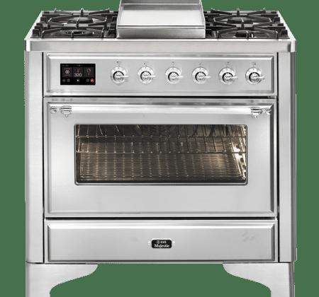 <span>M09FDNE3 - Majestic Series</span>90cm Single Oven Cooker