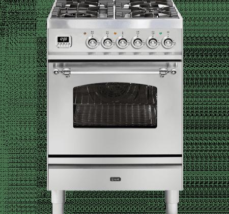 <span>P06DNE3 - Nostalgie Series</span>60cm Single Oven Cooker