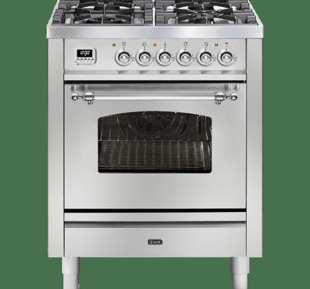 <span>P07DNE3 - Nostalgie series</span>70cm single oven cooker