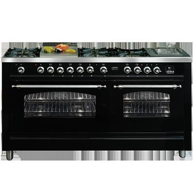 <span>PN150FRMP - Nostalgie Series</span>150CM GRAND cuisine COOKER