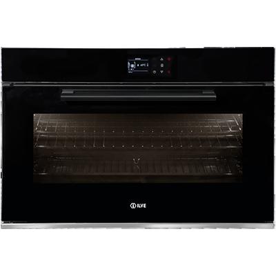 <span>900STCPBV - Black Glass</span>90cm single oven