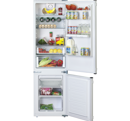 <span>INTEGRATED REFRIGERATOR</span>WITH UPPER FRIDGE AND LOWER FREEZER