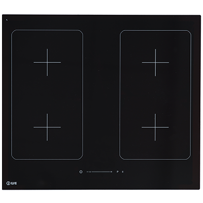 <span>60cm Induction Cooktop</span>Black Glass