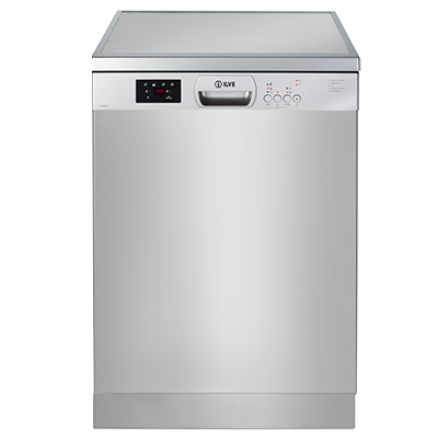 <span>freestanding dishwasher</span>with 13 place settings & 5 wash programs